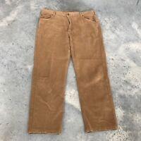 Hickey Freeman Mens Beige Khaki Dress Camel Trouser Pants Italy (RJ) SZ 36