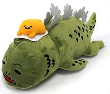 New Gudetama x Godzilla Collaboration BIG Plush Doll Toy 50cm SEGA from Japan