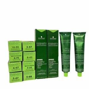 Schwarzkopf Professional Essensity Permanent Hair Color 2.1 fl. oz CHOOSE YOURS