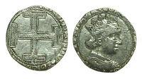 pci0547) Napoli Ferdinando I d' Aragona 1458-94 Coronato  1 C Gotica