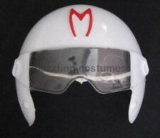 Go Speed Racer Helmet PVC Mask Mach Halloween Costume Accessory Child Plastic