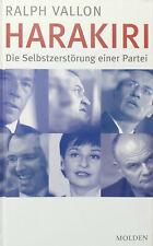 Harakiri Die Selbstzerstörung einer Partei - Ralph Vallon Politik FPÖ
