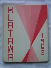 1962 SNOHOMISH HIGH SCHOOL YEARBOOK  SNOHOMISH, WASHINGTON  KLA-TA-WA