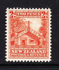 NEW ZEALAND 1936-42 2d ORANGE PERF.14 SG 580c MNH.
