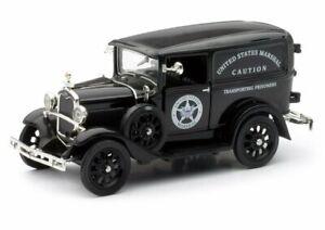 Ford Model A Wagon (US Marshalls 1931) Diecast Model Car 55123A