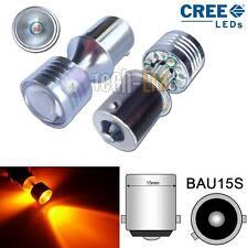 2x CAN-bus Amber 20W 150° B7507 PY21W CREE LED For Cars Turn Signal Corner Bulbs