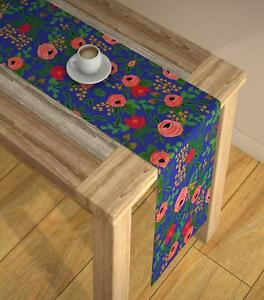 Abstract Multicolour HD Digital Modern 6 Seater Table Runner Cloth(13 x 72 Inch)