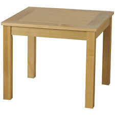 Seconique Oakleigh Lamp Table - Natural Oak Veneer