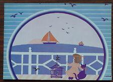 Carte postale Lorene,Kernaic  ,peinture naive ,postcard