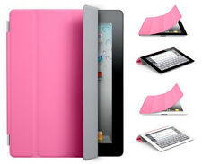 PINK MAGNETIC SMART COVER CASE STAND for NEW IPAD 3 HD IPAD 2 ULTRA-THIN