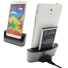 Data Sync Charging Dual Charger Dock For Samsung Galaxy Note 3 III N9000 N9005