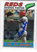 GEORGE FOSTER 2003 TOPPS FAN FAVORITE # 74 AUTOGRAPHED CARD !!!