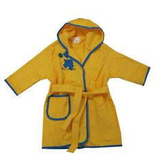 Bademantel Bademode Morgenmantel Frottee Kinder Baby Gelb Kapuze Gr.80,92