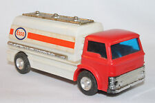1960's Ford Esso Gasoline Tank Truck, Lucky Mini Mite Toys, Friction Original