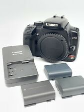 Canon EOS Digital Rebel XTi / EOS Digital SLR Camera - Body, Charger, X3 Battery