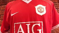 Manchester United football shirt Champions League 2006. Size XXL