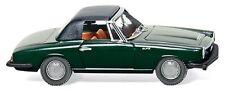 Wiking 1/87: 018698 Verre 1700 GT Cabriolet, vert, fermé