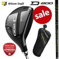 Wilson Staff D200 Superlight Men's Golf Hybrid Woods - NEW! 2020 (Inc H/Cover)