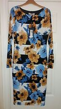 BNWT LIMITED EDITION M&S FLORAL DRESS - SIZE 8