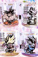 Dragonball Super Son goku & Shallot Glässer 4x Set Bandai Manga Anime Japan