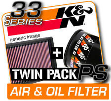 K&N Air & Oil Filter Twin Pack! ACURA ILX 2.0L L4 2013  [KN #33-2468 + PS-1010]
