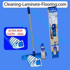 Quick-Step Laminate Floor Cleaning Kit Cleaner and MOP Set for Wood No Bucket