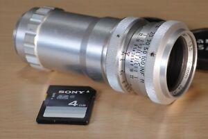 Steinheil Cassar 75mm F3.5 C-mount lens