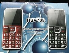 HSV 708 Big Button Mobile Phone Easy To Use Elderly Senior People, SOS button