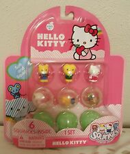 NEW Hello Kitty Blip Squinkies Pack of 6 - 1 set