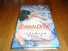 A Harper Novel of Suspense: Swan Dive Signed by Jeremiah Healy HC 1st/1st