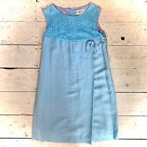 Vintage 1960's Designer Evening Dress Size 14-16