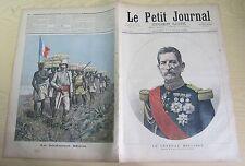 Le petit journal 1892 85 Le général Mellinet  + Lieutenant Mizon