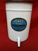 Vintage Enamel Jones Hospital Surgical Ware Irrigator No. 200
