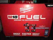 NEW MILWAUKEE 2796-22 M18 Fuel One Key 18V Brushless Cordless Combo Kit