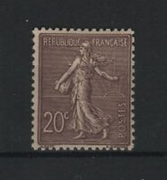 "FRANCE  STAMP TIMBRE N° 131a "" SEMEUSE 20c BRUN-LILAS FONCE "" NEUF xx LUXE T639"