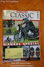 Motorrad Classic 6/06 Van Veen Norton TT NSU Max Z1300