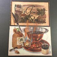 VTG Gourmet The Magazine of Good Living February 1946 - French Eating Customs