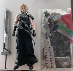 Play Arts Kai Cloud Strife - Advent Children - Authentic - Complete - Loose