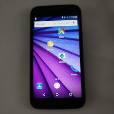 Motorola Moto G 3rd Gen (XT1540) 8GB- Black - Consumer Cellular-Fully Functional