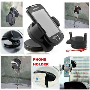 PHONE HOLDER MOUNT MOBILE IN CAR UNIVERSAL 360° FOR DASHBOARD WINDSCREEN SUCTION