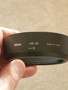 NIKON HB-46 Lens Hood Shade For AF-S 35mm f1.8 G DX Bayonet twist on GENUINE OEM