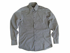 Reiss Black and White patterned 100% Cotton Shirt Mens Size S Small