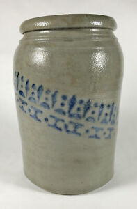 A.P. Donaghho Crock Parkersburg, WV West Virginia Stoneware  c. 1880 - 1 Gal.