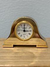 Bailey Banks & Biddle Miniature Brass Clock