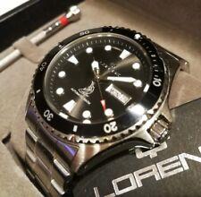 Orologio Uomo Lorenz automatico Professional Diver Shark 20 ATM doppio Cinturino