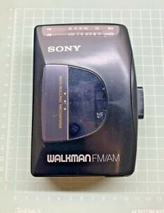 Sony, Walkman WM-FX10 [ FM / AM Cassette player  ] Serial No: 2834146, Black