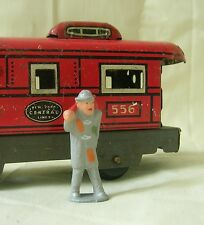 Train Yard Hobo with bindle, O scale model train layout figure, Reproduction