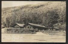 RP Postcard CRAWFORD NOTCH New Hampshire/NH Willey Camp Cabins's #1 view 1920's?