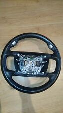 BMW 7 SERIES E65 LEATHER MULTIFUNCTION STEERING WHEEL BLACK 67920610 6031435C