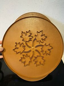 Nordic Ware Pie Top Cutter Apples & Maple Leaves 35cms USA